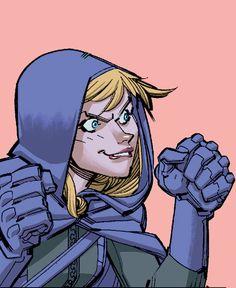 "barbaragordan: "" Babs and Steph in Batgirl Annual "" Stephanie Brown Robin, Dc Batgirl, Batman Family, Comics Girls, Dc Heroes, Cultura Pop, Gotham City, Marvel Dc Comics, Dark Knight"