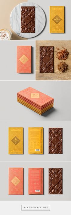 56 Ideas Design Product Packaging Chocolate Bars For 2019 Chocolate Company, Chocolate Brands, Cacao Chocolate, Chocolate Snacks, Candy Packaging, Pretty Packaging, Spices Packaging, Coffee Packaging, Bottle Packaging