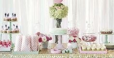Bridal Shower With A Touch Of Glam {Guest Feature}
