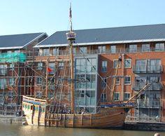 The Matthew at Gloucester Docks