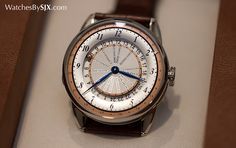 Watches By SJX: Hands-On with the De Bethune DB25 World Traveller