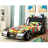 Furniture of America Indy Kid 500 Youth Racer Bed - Twin deals week