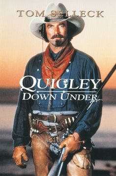 Quigley Down Under (1990) Sharpshooter Matt Quigley is hired from America by an Australian rancher so he can shoot aborigines at a distance. Quigley takes exception to this and leaves. The rancher tries to kill him for refusing, and Quigley escapes into the brush with a woman he rescued from some of the rancher's men, and are helped by aborigines. Quigley returns the help, before going on to destroy all his enemies.