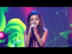 WHAAATTT????  9 year old ...Angelina Jordan - What a Diff'rence a Day Makes - Singapore TV - 2015
