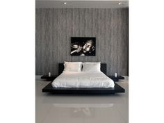 Love the bed have the artwork -Modern contemporary japanese zen platform bed