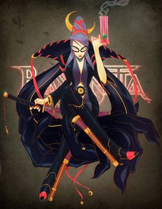 bayonetta contest entry by ~Gingashi on deviantART