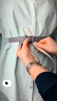 Diy Clothes Life Hacks, Diy Clothes And Shoes, Clothing Hacks, Stylish Clothes For Women, Mode Outfits, Casual Outfits, Fashion Outfits, Womens Fashion, Diy Fashion Hacks