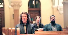 "This talented a cappella group ""Home Free"" enter a beautiful church and begin singing the Christmas carol, ""Angels We Have Heard On High"" with such harmony it is covering everyone in goosebumps who hear it. The acoustics in the church add to the song and their talented voices – what .."