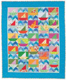 Little Sailor, in: Cuddle Me Quick, a collection of baby quilts by Christine Porter and Darra Williamson