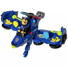 Buy PAW Patrol Chase Flip & Fly Transforming Vehicle | Toy cars and trucks | Argos