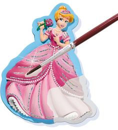 SES Glitter dreams - casting and painting #casting #painting #mould #gips #gipsgieten #schilderen #glitterdreams #glitter #creatief #princess