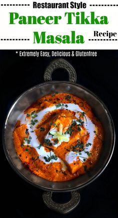 Restaurant Style Paneer Tikka Masala Recipe: #paneer #tikka #masala #curry #indianfood #tikkamasala #butterpaneer #indianfood