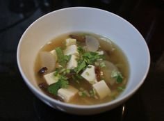 Simmer slices of daikon in soup for a simple, comforting soup.