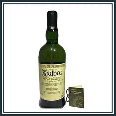 Ardbeg Very Young. It's the first part in the Young series and now very collectable and rare. It't available now at Whisky Collectables. Ardbeg Whisky, 6 Year Old, Distillery, Scotch, Wine, Canning, Drinks, Bottle, Drinking