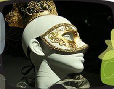 Mascara y Tocado de Ana Bolena