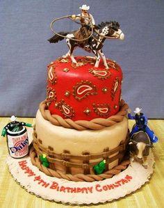Western cake idea...find cowgirl!