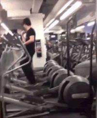 gym dancing GIF