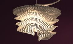 3D-printed lights by Studio Luminaire