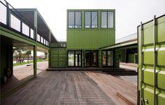 Playze diseña Tony´s Farm, una granja orgánica de contenedores | Revista de arquitectura | Experimenta