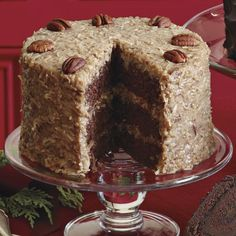 From Perfect Endings Vintage ™ Cake collection , Sam Godfrey, Perfect Endings Founder, created this melt-in-your-mouth German Chocolate cake to honor his Southern Grandmother who baked from scratch using only the finest, freshest ingredients. His rendition recreates her scrumptious recipe down to the very last crumb.