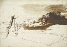 claude lorrain ink drawings - Google Search