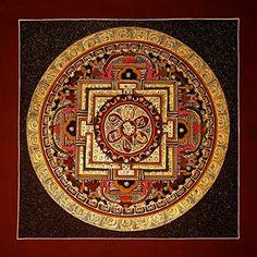 曼荼罗是梵文,意思圈。 曼荼罗是宇宙的代表性。 曼荼罗是常用作辅助冥想和恍惚的道路灵识/启示。 这是一个独特的手绘曼陀罗唐卡从尼泊尔进口的。 装饰你的家或办公室用彩色唐卡绘画。 这幅画将推出无框的棉帆布。 一般来说,唐卡持续很长一段时间,并保留了许多光彩,但由于他们的细腻自然,它们必须保存在干燥的地方,我们建议涂装使用前帧。