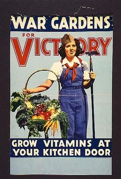 Victory Gardens and vintage posters
