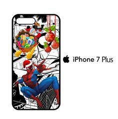 Spiderman Marvel Comic christmas Y2900 iPhone 7 Plus Case