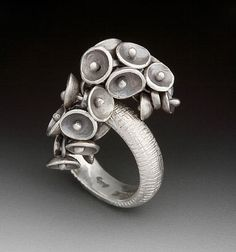 Ring | Lisa Colby. Sterling silver.