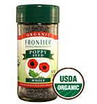 Frontier Organic Whole Poppy Seeds