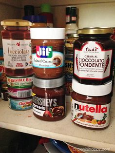 What do you do when you find 5 types of chocolate hazelnut spread in your pantry? Conduct a taste test, of course!