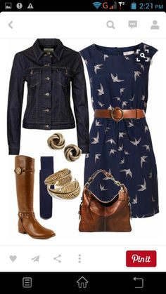 Cute weekend casual outfit for shopping or lunch. Also great vacation/travel outfit. Belted waist may look matronly on me. Mode Outfits, Casual Outfits, Fashion Outfits, Womens Fashion, Dress Fashion, Skirt Outfits, Colored Jeans Outfits, Casual Dresses, Comfy Dresses