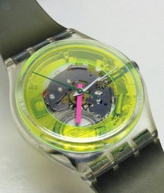 Techno-sphere..my favourite swatch...also bought it a second time when I lost the other one on holidays...^^