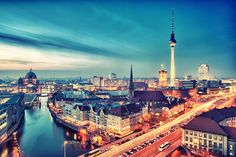 Berlin City Nights - Berlin, Germany