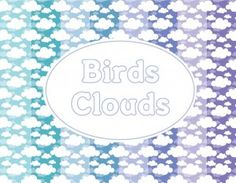 paper packs: cute clouds - FREE
