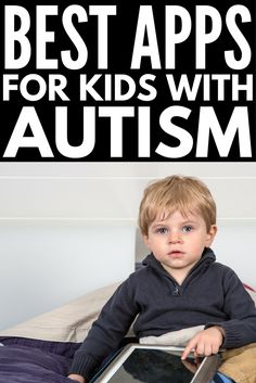 Looking for the best apps for autism? Whether you're specifically looking for an inexpensive speech generating device (AAC) for non-verbal . Autism Apps, Autism Education, Autism Learning, Autism Sensory, Autism Parenting, Adhd And Autism, Autism Activities, Autism Resources, Autism Classroom