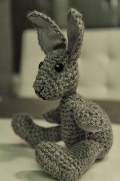 Crochet bunny.