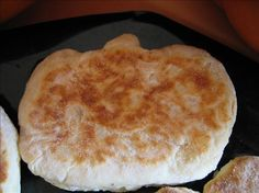 Potato English Muffins- I used more flour than it called for in the recipe but these turned out fabulously! Nomlicious!