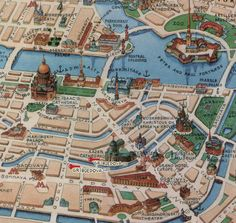 Moscow Europe Map