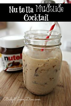 Ingredients: 1 Tablespoon of Nutella, 2 oz half and half, 2 oz Baileys Irish cream, 2 oz Frangelico, ice.  Shake!