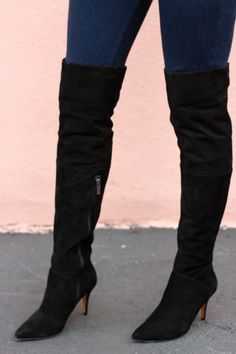 bf4741aa827 3 Inch Over The Knee Boots - Boot Ri