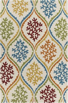 This tufted polypropylene Chandra rug is perfect for both indoors and outdoors!