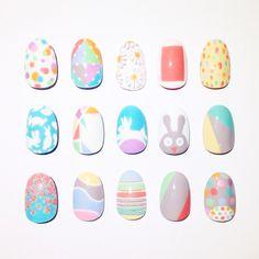 Cool Easter nail art ideas