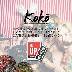 ¡Pic Up será el encargado de fotografía! https://www.facebook.com/picupmx #KokoEdm14 #moda #diseño #marketing #emprendimiento