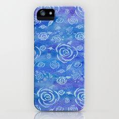 Bali Blue Batik iPhone Case
