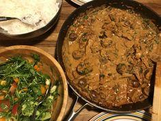 Vegansk Biff Stroganoff | Jävligt gott - vegetarisk mat och vegetariska recept för alla, lagad enkelt och jävligt gott.