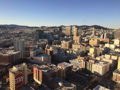 San Francisco as seen from the Parc 55 Hotel