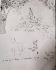 திருப்பாவை – Lavanya Rangaswami Diagram, World, Drawings, Art, Art Background, Kunst, Sketches, Performing Arts, Drawing