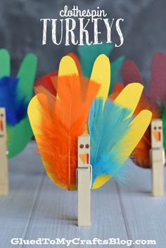 Handprint Turkeys - Kid Craft