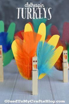 Handprint Turkeys - Kid Craft